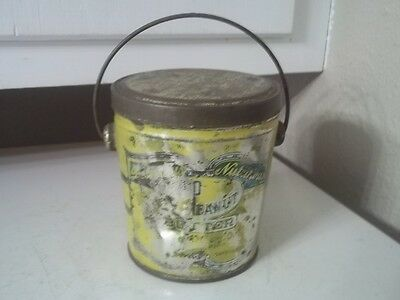 Vintage DELICIOUS NUTRITIOUS PEANUT BUTTER TIN SUFFOLK VA ESTATE FIND