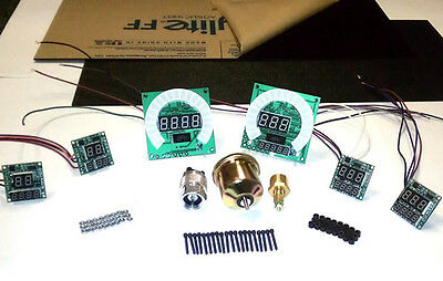 Create a Dash By Intellitronix BLUE Create-A-Dash Complete Kit Auto Gauges Panel