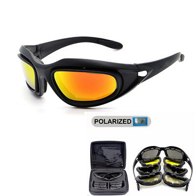 Daisy C5 Polarized Military Style Tactical Goggles Motorcycle Glasses cycling