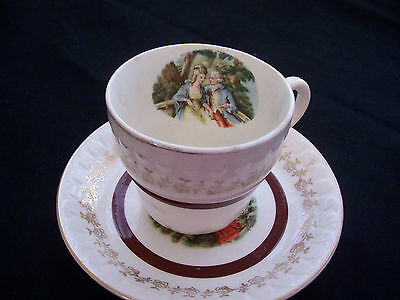 Barratts of Staffordshire England Cup and Saucer