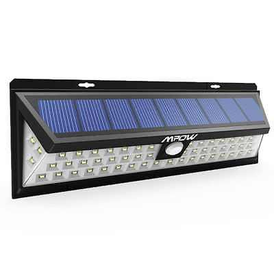 54 LED Security Garden Solar light Mpow Solar Wall Lights Outdoor Waterproof S
