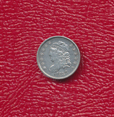 1832 Capped Bust Silver Half Dime **excellent Circulated Coin** Free Shipping!