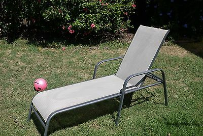 Sun Bed, outdoor lounge, recliner bed