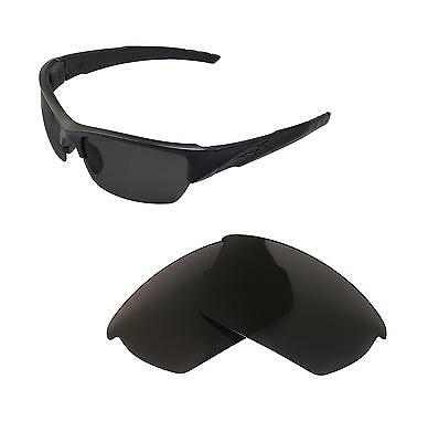 Walleva Polarized Black Replacement Lenses For Wiley X Valor