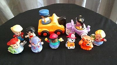Bulk lot of Fisher Price Little People.