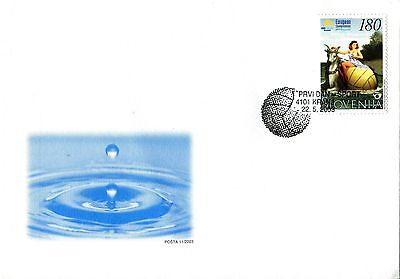 Slovenia 2003 Waterpolo FDC