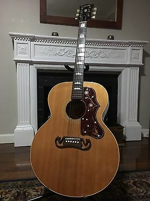 Gibson J100 Xtra 2002 J200 Jumbo Vintage Acoustic Electric