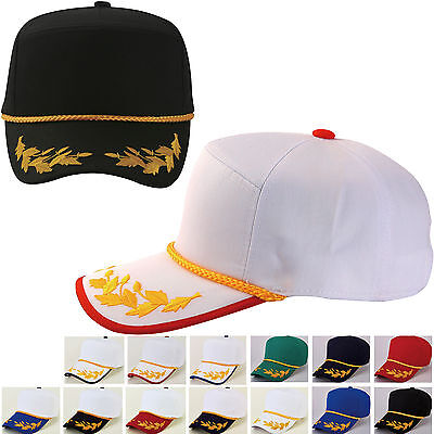 Laurel Embroidery Baseball Hiphop Guard Braided Cord Snapback Trucker Caps Hats