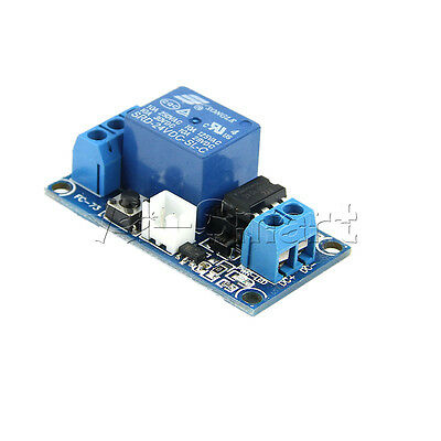 New 1 Channel 24V Latching Relay Module with Touch Bistable Switch MCU Control