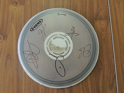 Bring Me The Horizon signed drum skin - ALL proceeds to Charity