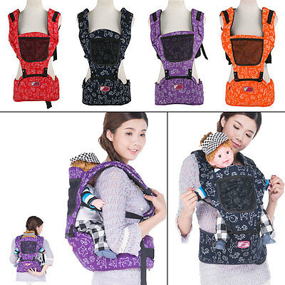 Baby Carrier Sling Infant Breathable Adjustable Wrap Newborn Toddler Backpack