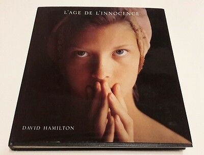 DAVID HAMILTON L'Age de L'innocence Rare Edition Francaise Denoel french of book