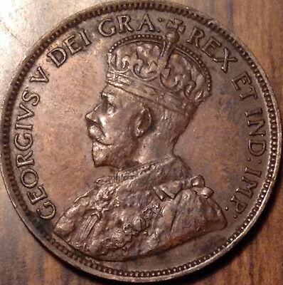 1918 Canada Large Cent In Great Condition !