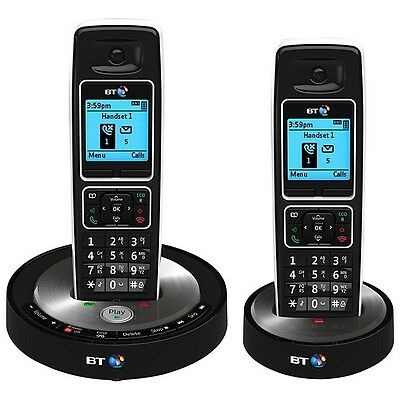 BT 6510 Twin Telephone - Dect phone with answer machine