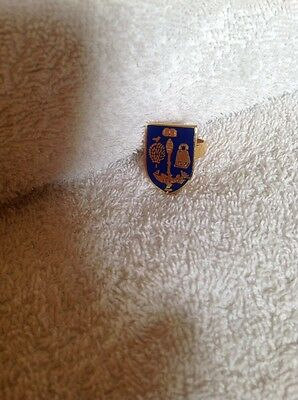 Vintage University of Glasgow heraldic shield crest, arms Scarf Ring Free post