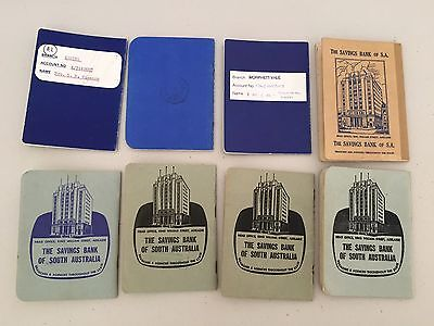 State Bank SA South Australia Passbooks Collectable