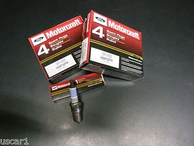 Zündkerzen Satz Motorcraft SP493 Ford Mustang F150 E150 Expedition Crwon Victori