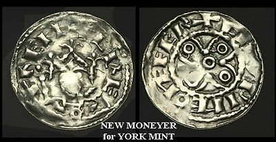 NO-WKJF - HENRY I - Annulet and Piles type Penny, c1105AD. New moneyer for YORK.