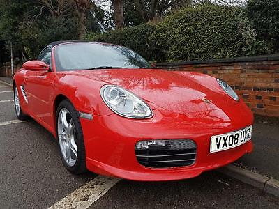 PORSCHE BOXSTER 24V SPORT EDITION, Red, Manual, Petrol, 2008