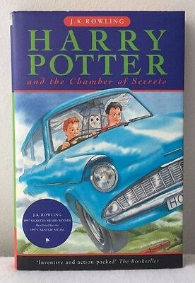 Harry Potter and The Chamber of Secrets First Edition 1st/6th VGC