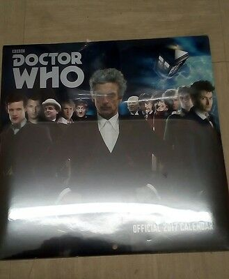 Doctor Who,2017 Calendar,new/sealed.
