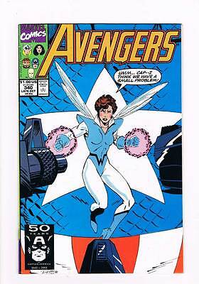Avengers # 340 Clay Soldiers ! grade 8.5 scarce book !!
