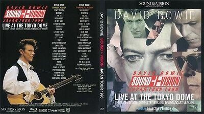 David Bowie. Blu-Ray. 1990. Live At Tokyo Dome. Complete Edition. 2 Bd.