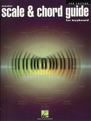 Master Scale And Chord Guide For Keyboard - 2nd Edition Klavier Notenbuch
