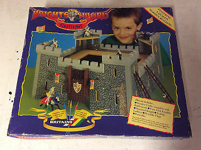 Vintage Britains Knights Of The Sword Castle Set USED