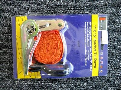 "12 packs  x  Ratchet The Tie Down Strap/1""x 15' for cars and tracks load"