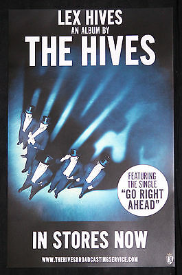 The Hives Poster Promo collectible 11 x 17 lex hives