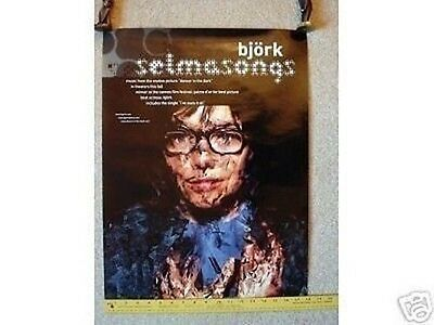 BJORK Promo POSTER Selmasongs collectible