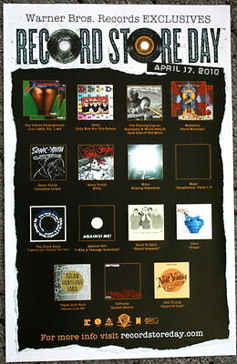 Velvet Underground poster Sonic Youth Record Store Day