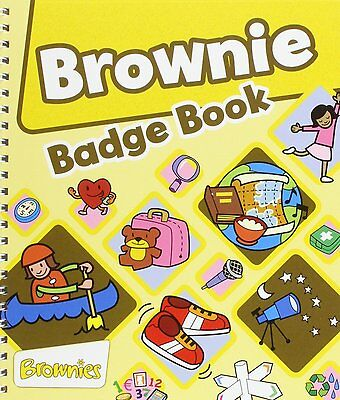 The Brownie Guide Badge Book Spiral Bound Girlguiding *** FAST FREE DELIVERY