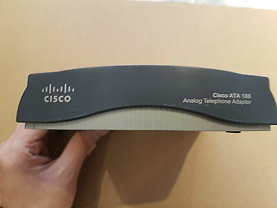 Cisco ATA186 VOIP Telephone Adaptor - No PSU