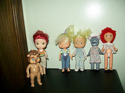 Lot Tcfc Dolls,raggedy Ann, Hong Kong ,cat Doll, Disney Baby
