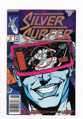 Silver Surfer # 26 Vol 2   Z-Day ! grade 8.5 scarce book !!