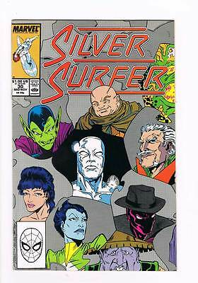 Silver Surfer # 30 Vol 2  A.I.-YI-YI !!! grade 8.5 scarce book !!