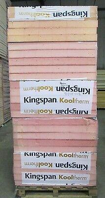 Seconds Insulation Board 90mm/100mm Kingspan Kooltherm