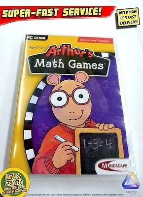 Arthurs Math Games for Windows PC NEW, AUSSIE educational software kids learning