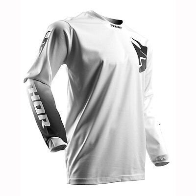 Thor Pulse Whiteout MX ATV Motocross Off Road Jersey