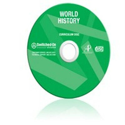 10th Grade SOS World History Homeschool Curriculum CD 10 Switched On Schoolhouse