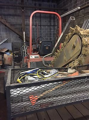 ditch witch trencher And Double Wheel Trailer