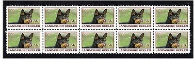 Lancashire Heeler Strip Of 10 Year Of The Dog Stamps 1