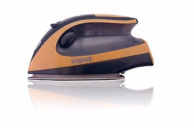 Travel Iron Steam Compact Portable Gold Mini Lightweight Smart