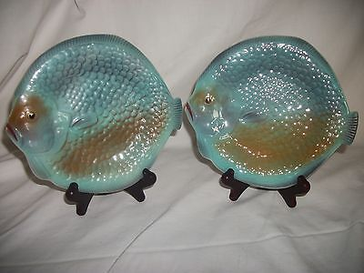 Two Small Fish Plates  By Shorter & Son ( See Photo's )
