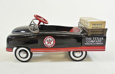 Texaco Special Edition Authentic 1948 BMV Fire Engine Pedal Car Bank  Black