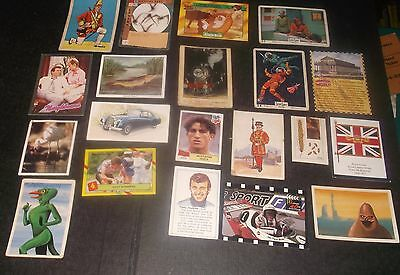20 Trade/gum/confectionary Cards Inc Anglo's Captain Scarlett & Krazy Keatures
