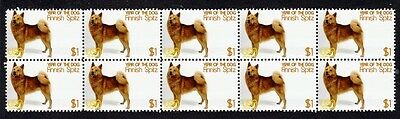 Finnish Spitz Year Of The Dog Strip Of 10 Mint Stamps 2