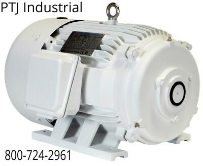 50 hp electric motor for rotary phase converter 326t tefc 208-230/460 no shaft